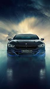 Wallpaper BMW Front 8-Series 2019 M850i XDrive Night Sky Edition Nature