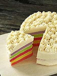 Fotos Süßware Torte Stück
