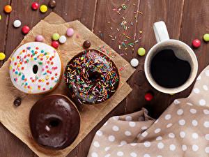 Bilder Kaffee Donut Schokolade Bonbon Tasse Lebensmittel