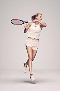 Hintergrundbilder Tennis Lauf Czech Petra Kvitova Sport Mädchens