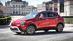 Fotos Fiat Rot Metallisch 2018 500X Cross auto