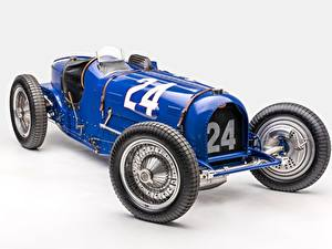 Fotos Retro BUGATTI Grauer Hintergrund Classic Grand Prix 1933 Type 59 Grand Prix Autos