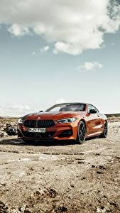 Images BMW Red Coupe 2018 8-Series M850i xDrive G15