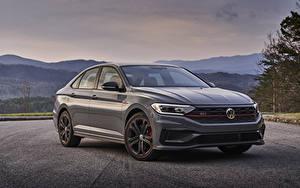 Picture Volkswagen Grey Metallic 2019 Jetta GLI 35th Anniversary