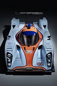 Desktop hintergrundbilder Aston Martin Von oben DBR1-2, LMP1, Sports prototype, 24 Hours of Le Mans Autos