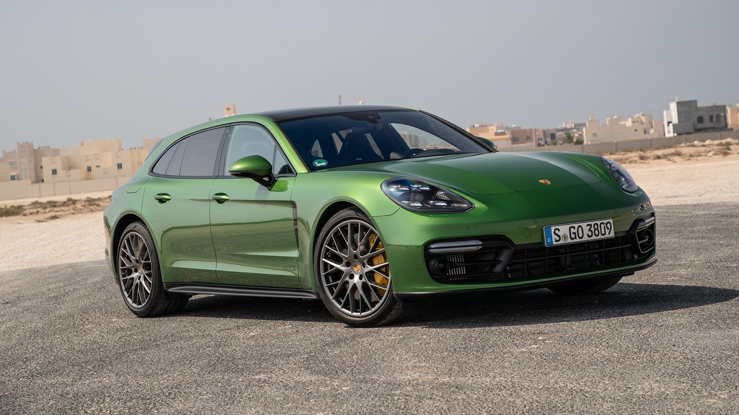 Fondos De Pantalla 2560x1440 Porsche Panamera Verde Metálico