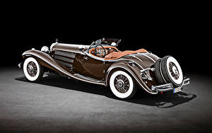 Fotos Mercedes-Benz Retro Roadster Braun 500 K Special Roadster (W 29), 1934 auto