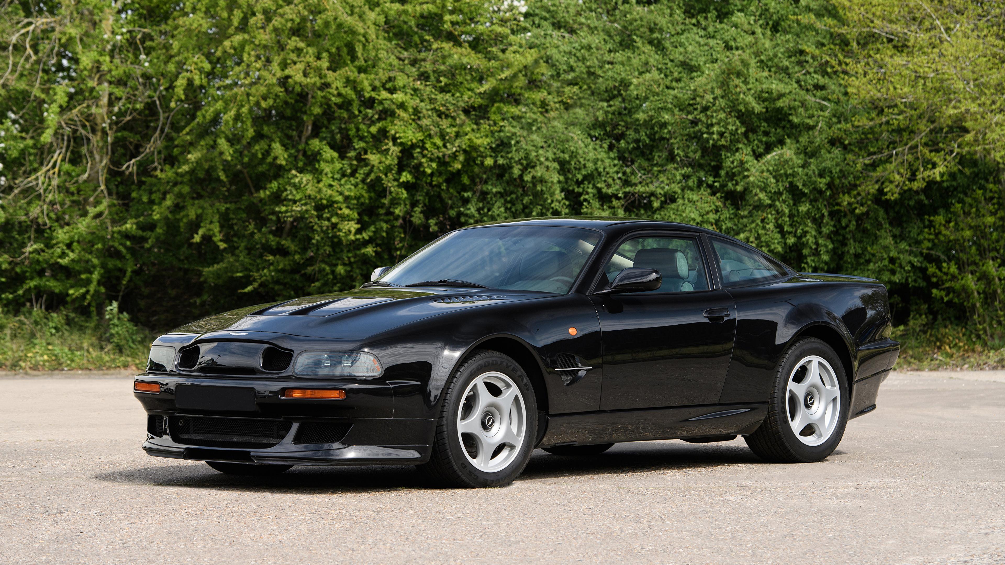 Papeis De Parede 3840x2160 Aston Martin 1999 2000 V8 Vantage Le Mans V600 Lhd Preto Metalico Carros Baixar Imagens