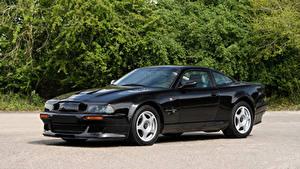 Fondos de Pantalla Aston Martin Negro Metálico 1999-2000 V8 Vantage Le Mans V600 LHD Coches