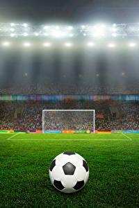 Bilder Stadion Rasen Ball Sport