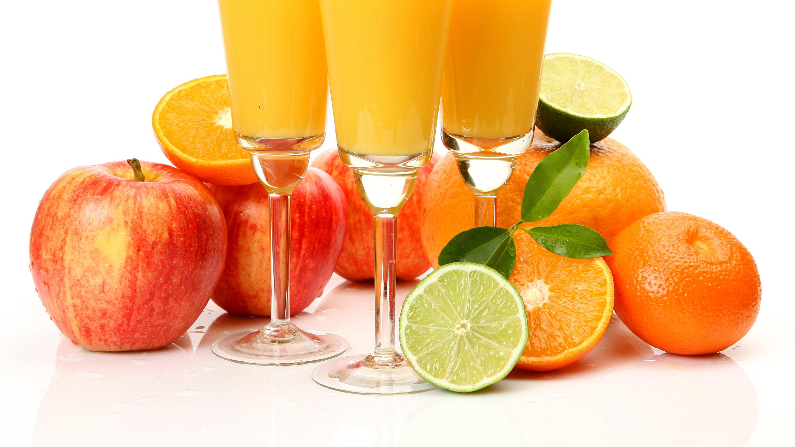 Fonds Decran 2560x1440 Boisson Jus Pommes Citrons