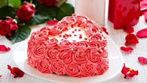 Hintergrundbilder Valentinstag Süßigkeiten Torte Design Herz Kronblatt Lebensmittel