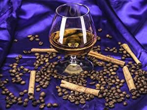 Bilder Alkoholische Getränke Zimt Kaffee Weinglas Getreide