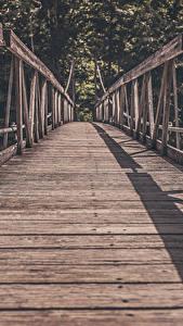 Bilder Brücken Hölzern Bretter