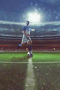 Hintergrundbilder Fußball Mann Stadion Ball Uniform Sport
