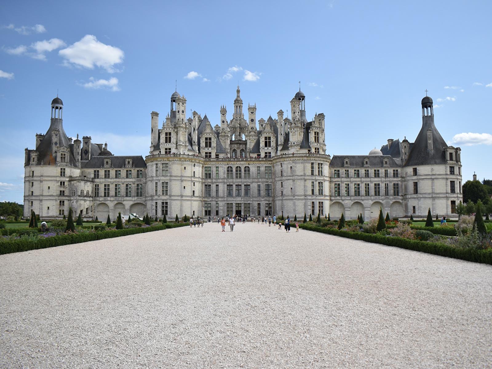 Achtergrond Paleis Frankrijk Museum Burcht Steden 1600x1200 musea een stad