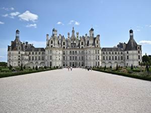 Hintergrundbilder Burg Frankreich Palast Museen