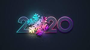 Bilder Neujahr Schwarzer Hintergrund Schneeflocken 2020