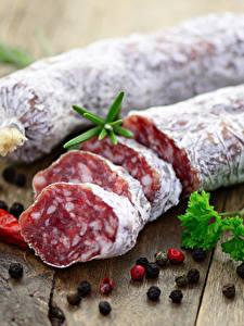 Bilder Fleischwaren Wurst Gewürze Schwarzer Pfeffer Lebensmittel