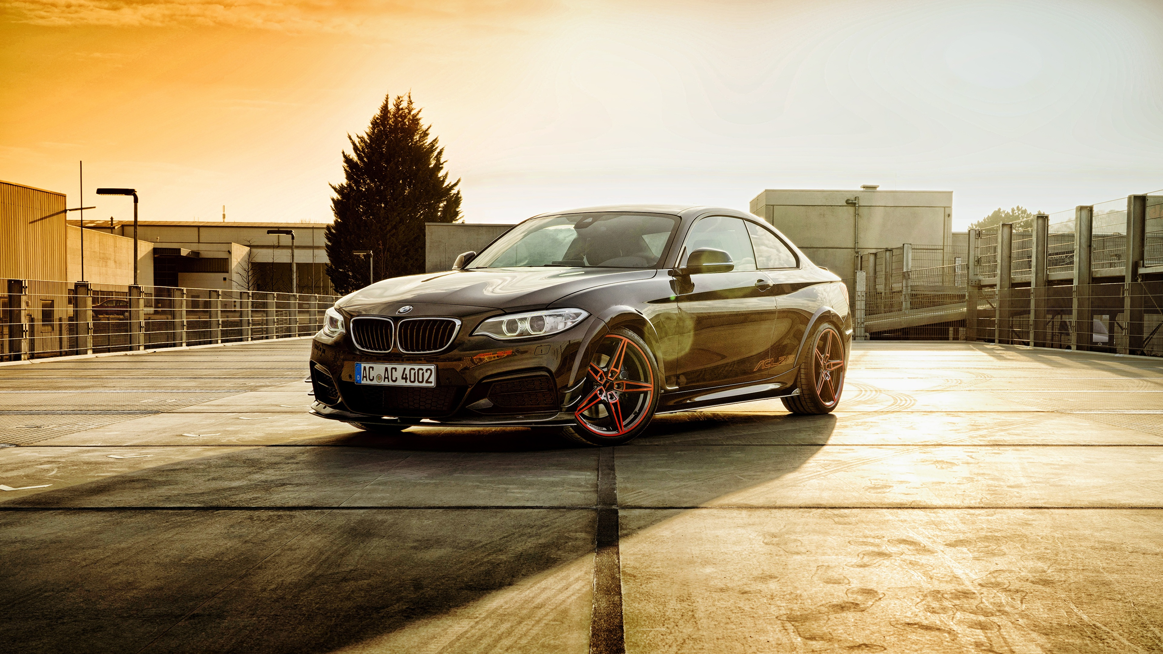 Wallpaper BMW F22, 2-Series Coupe Cars 3840x2160