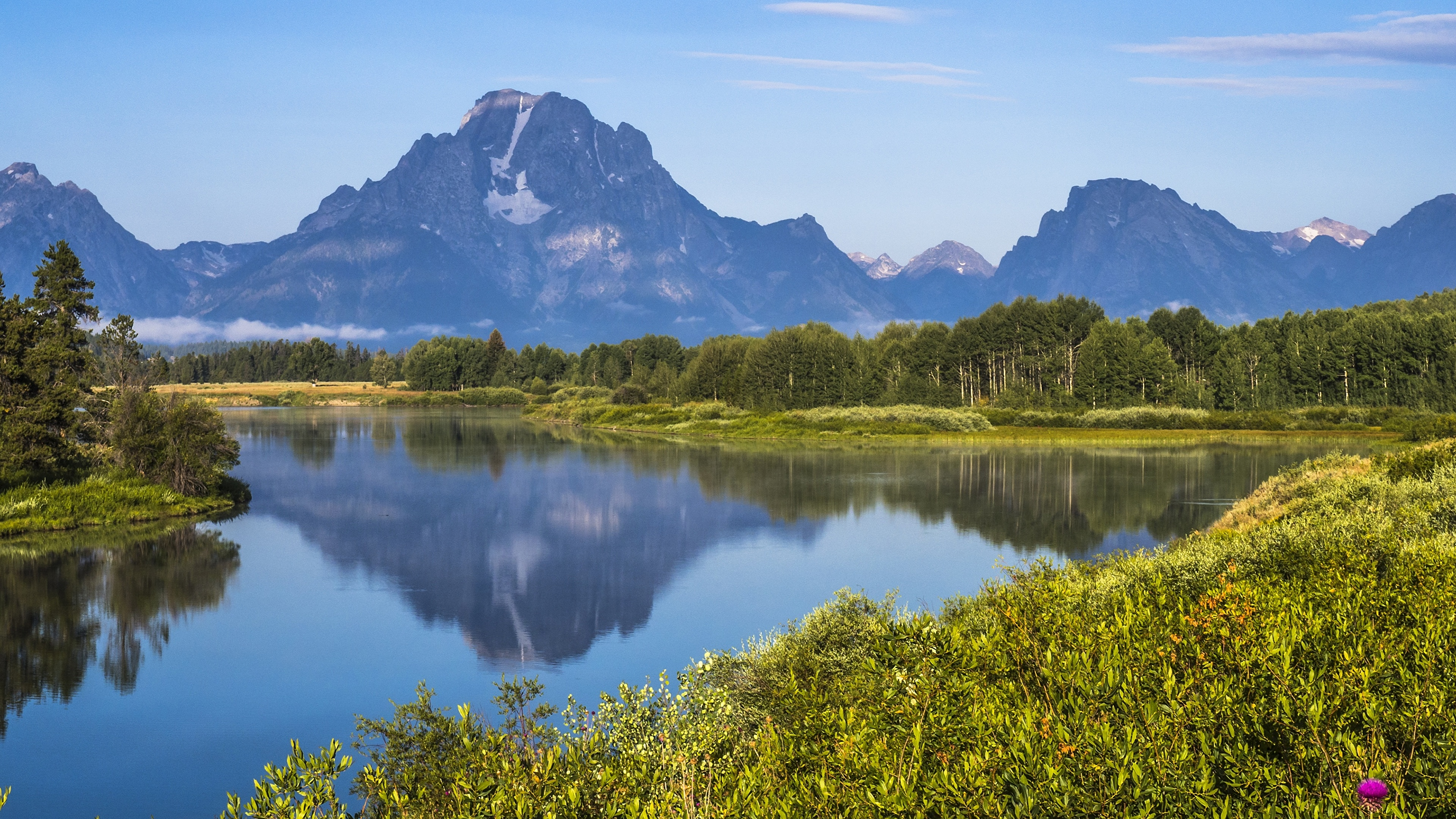 Pictures Usa Grand Teton National Park Wyoming Nature 3840x2160