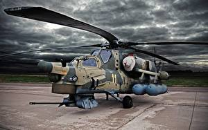 Photo Helicopters Russian Mi-28N Aviation