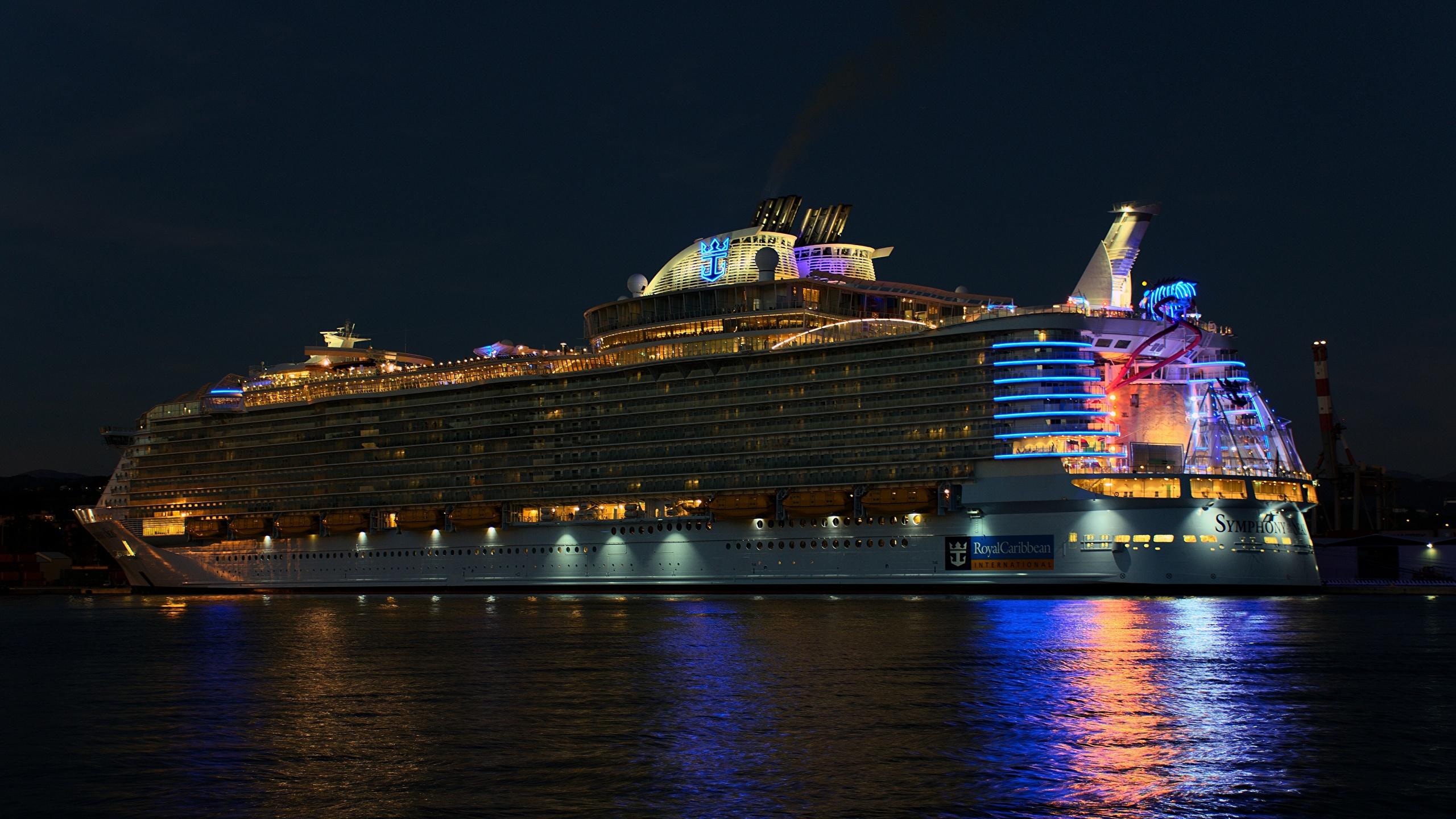 Fondos De Pantalla 2560x1440 Crucero Barco Royal Caribbean
