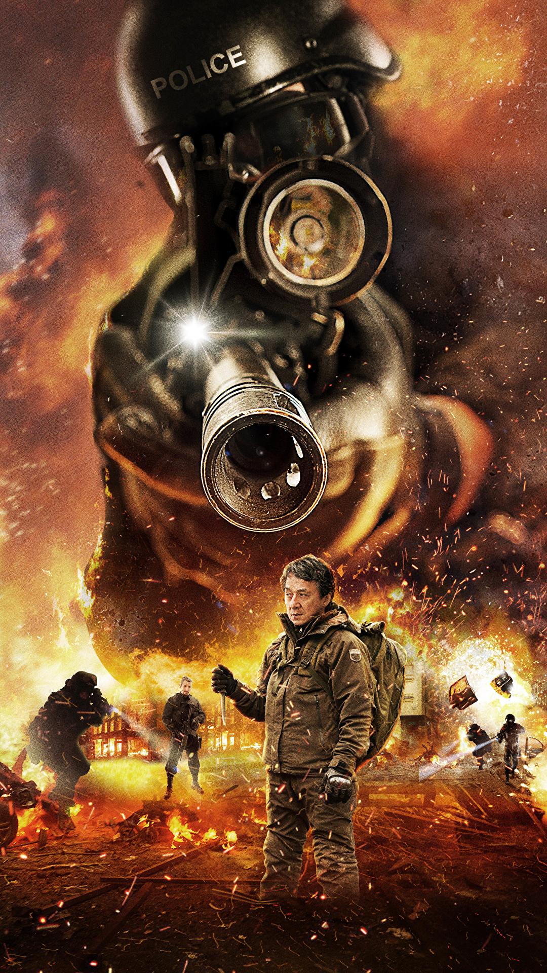 壁紙 1080x19 ジャッキー チェン The Foreigner 17 警察 銃砲身 映画 ダウンロード 写真