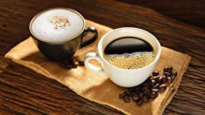 Hintergrundbilder Kaffee Cappuccino Zwei Tasse Getreide Lebensmittel