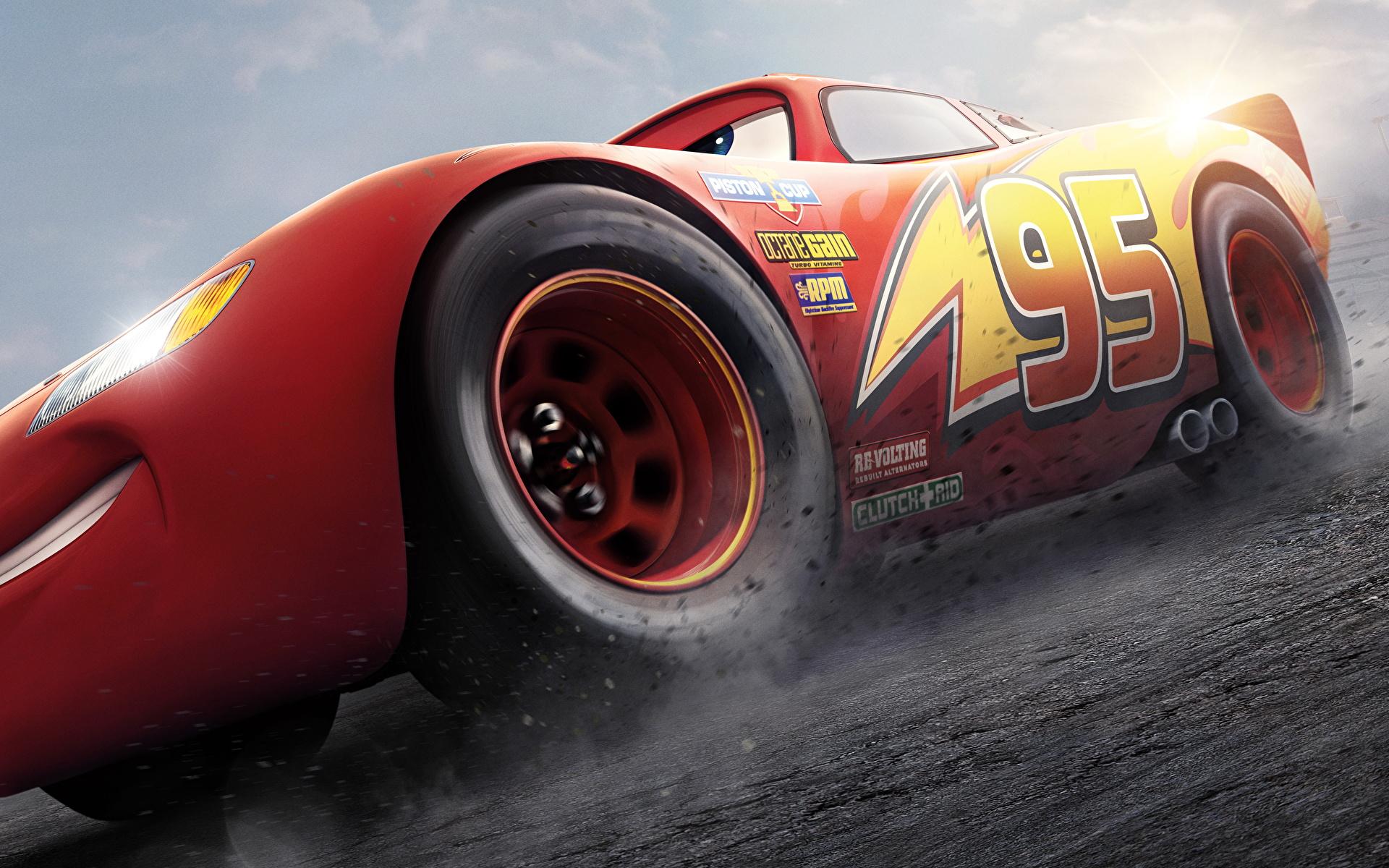 Bilder von Cars 3 Lightning McQueen Rot Animationsfilm 1920x1200 Zeichentrickfilm