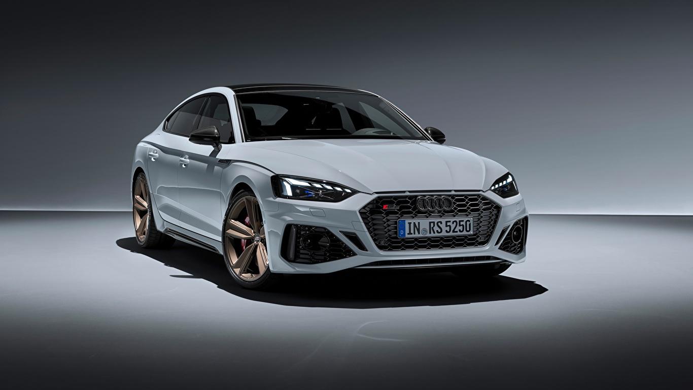 Papeis De Parede 1366x768 Audi Rs5 Sportback Rs 5 2020 Branco Metalico Carros Baixar Imagens
