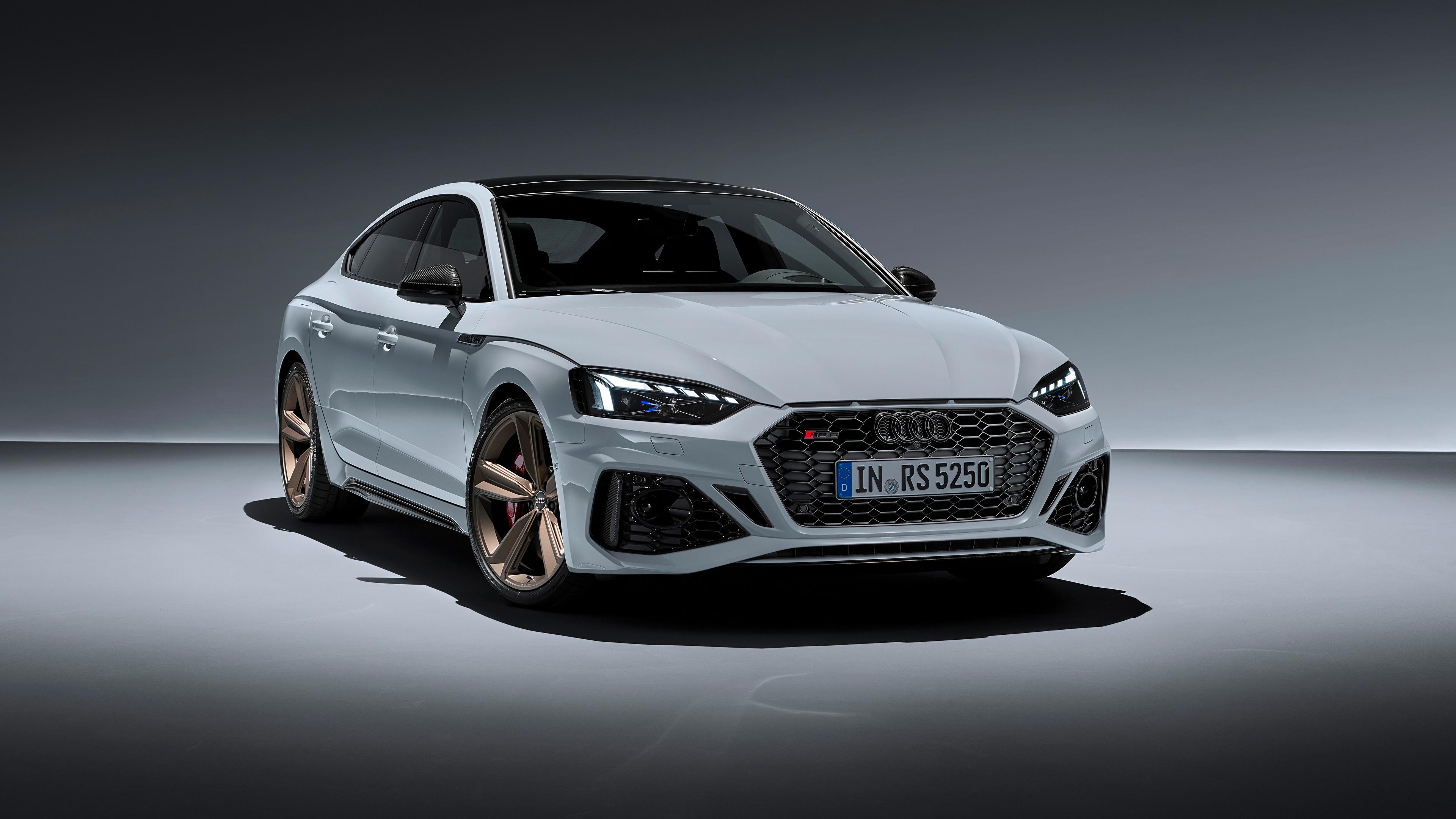 Papeis De Parede 3840x2160 Audi Rs5 Sportback Rs 5 2020 Branco Metalico Carros Baixar Imagens