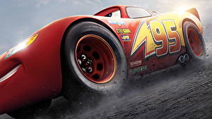 Photo Cars 3 Red Lightning McQueen