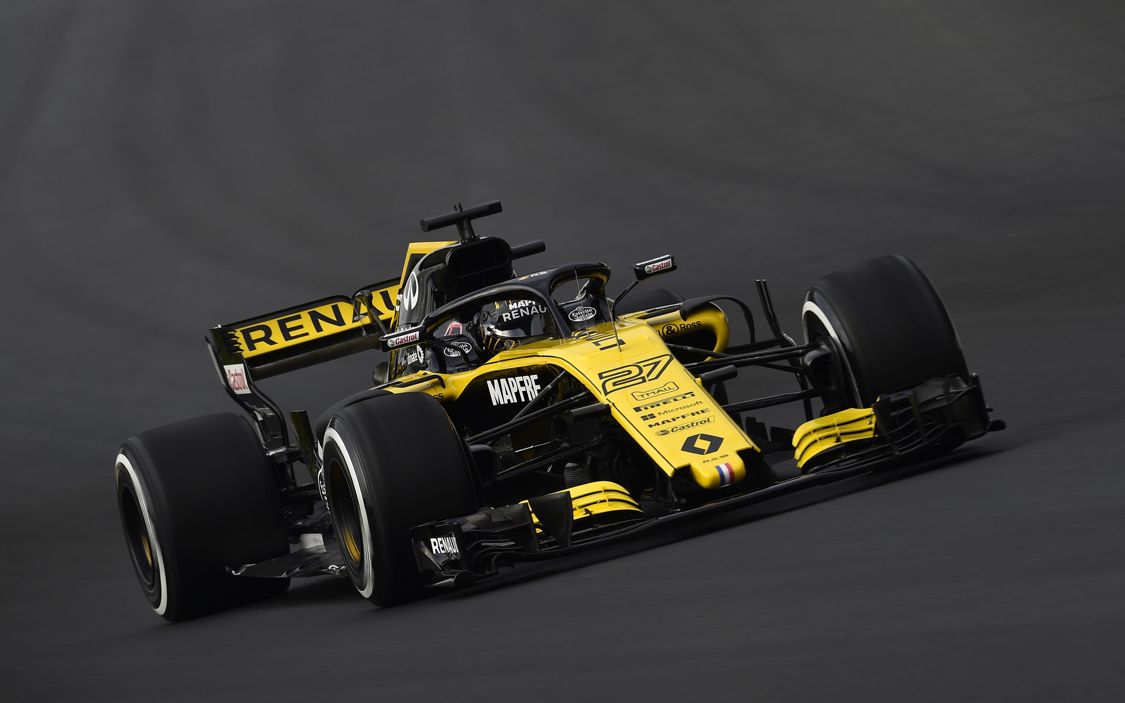 Fondos De Pantalla 3840x2400 Renault Formula 1 2018 Rs18