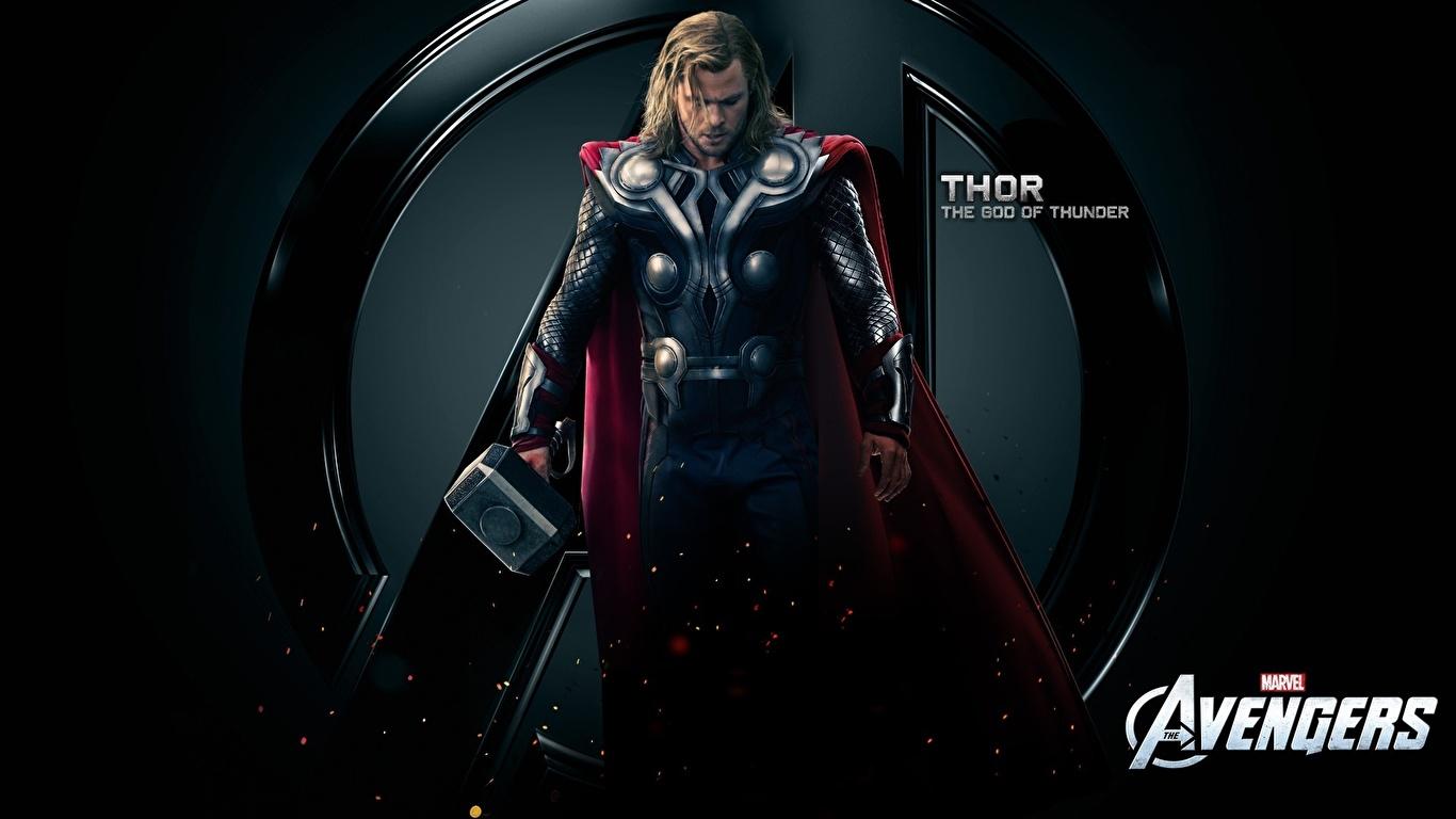 Fotos von Marvel's The Avengers 2012 Chris Hemsworth Thor Held Film 1366x768
