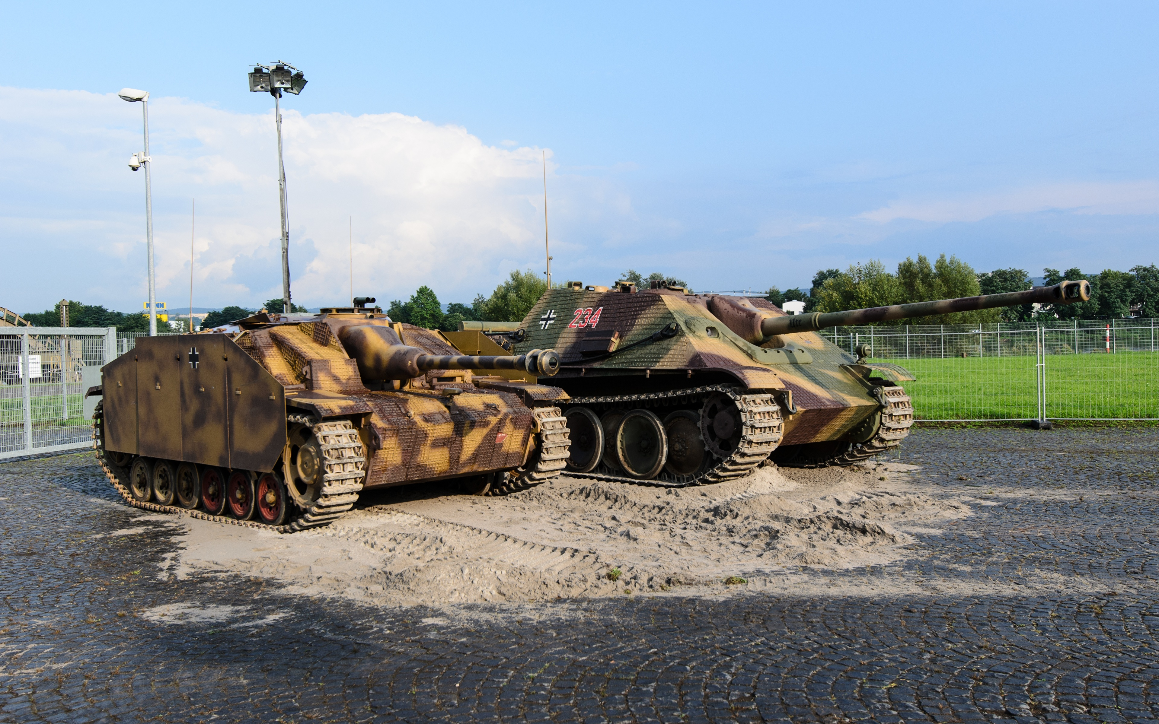 Bilder von Selbstfahrlafette Deutsch Zwei Militär 3840x2400 deutsche deutscher 2 Heer