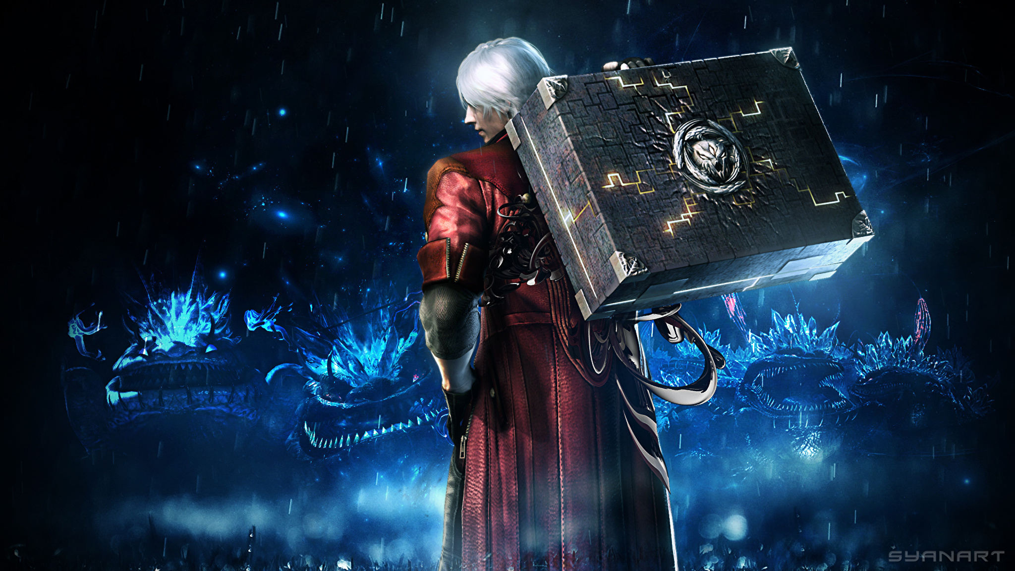 wallpaper dante devil may cry devil may cry 4 man 3d 2048x1152