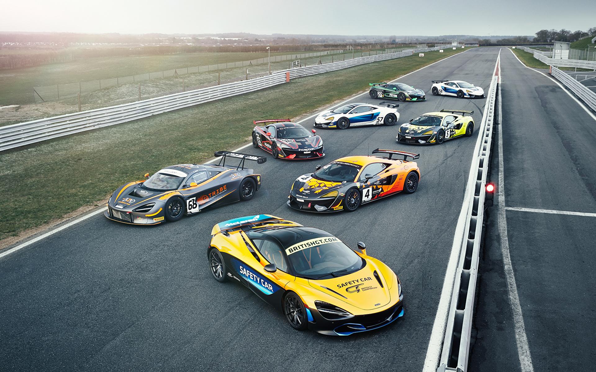 Bakgrundsbilder Tuning McLaren Bilar Många 1920x1200 bil automobil