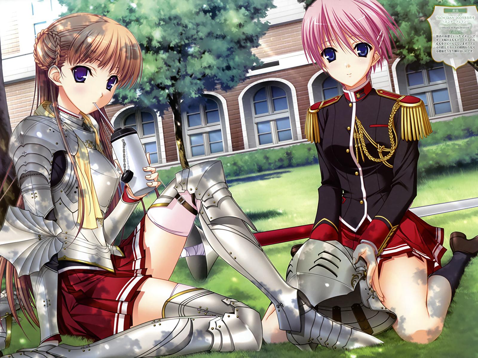 壁紙 1600x1200 ワルキューレロマンツェ 少女騎士物語 ゲーム