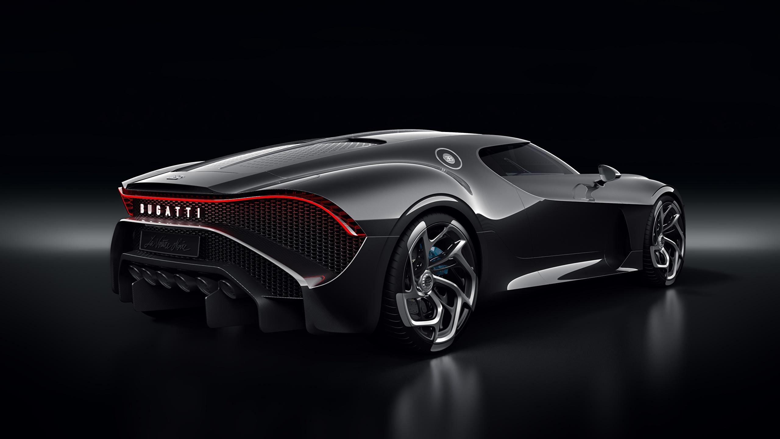 Fonds Decran 2560x1440 Bugatti La Voiture Noire Noir Fond