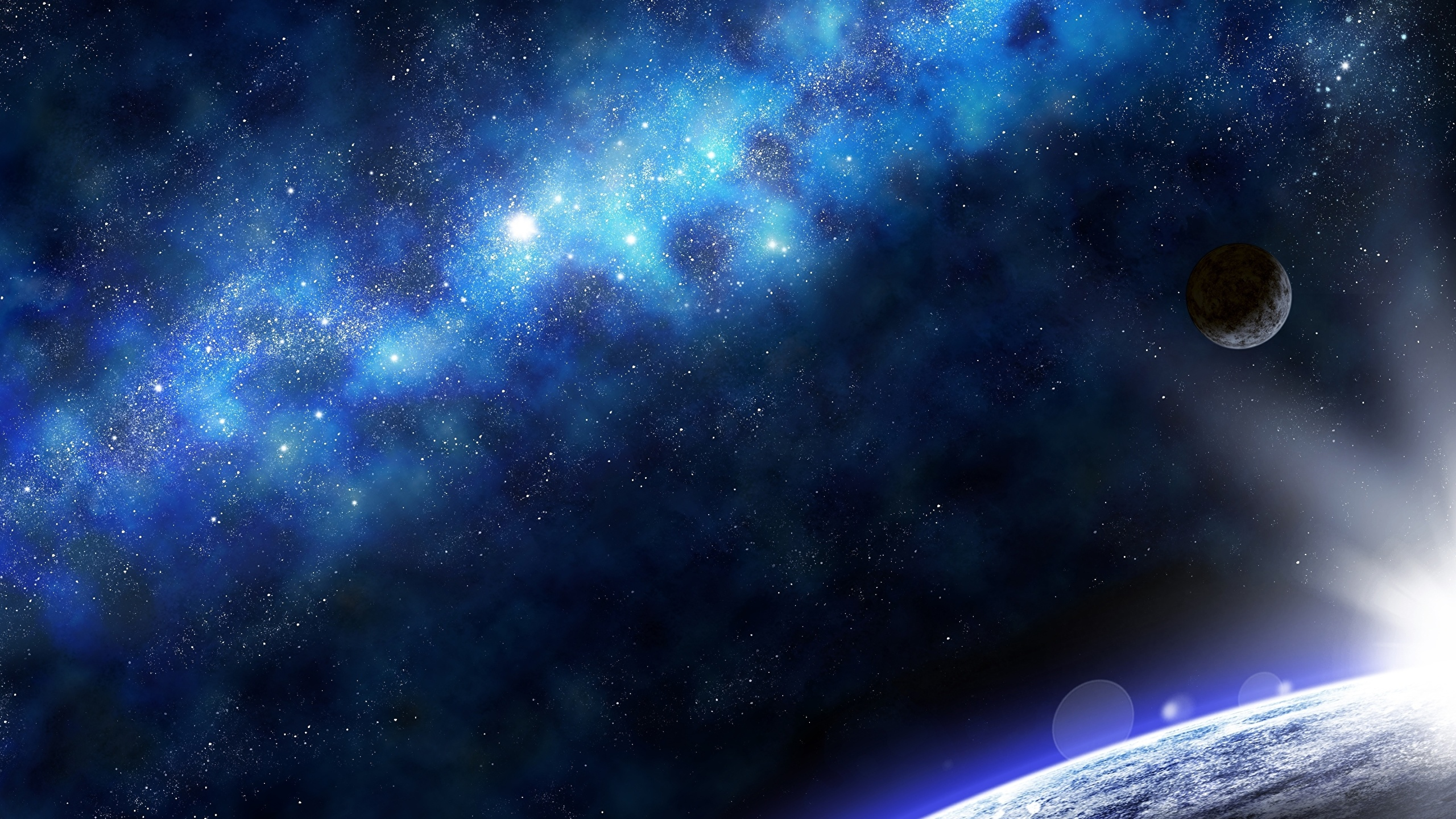 Image planets nebulae in space space 2560x1440 - Space 2560 x 1440 ...