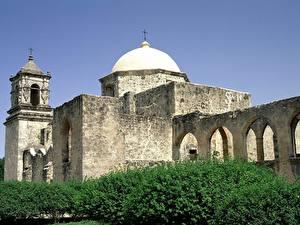 Bilder Tempel Vereinigte Staaten Texas Mission San Jose, San Antonio