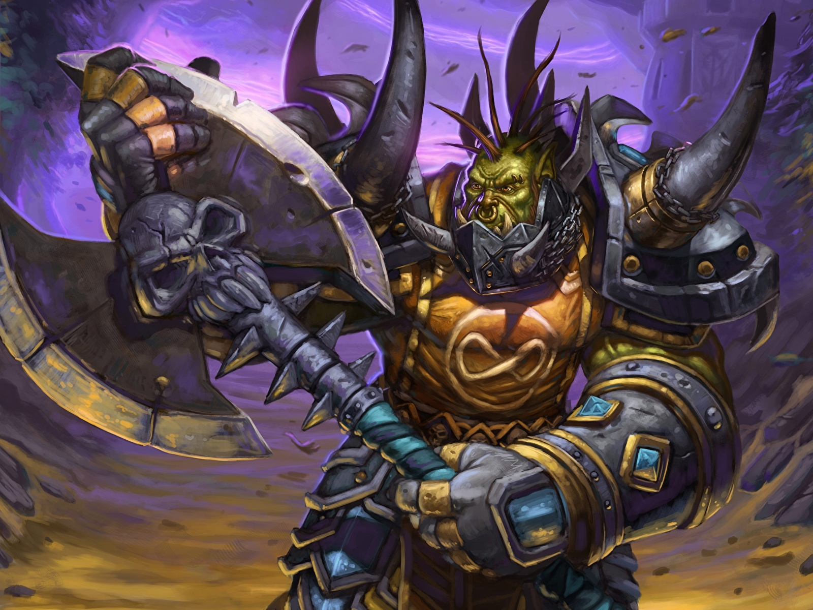 Fondos De Pantalla 1600x1200 World Of Warcraft Monstruos Orco