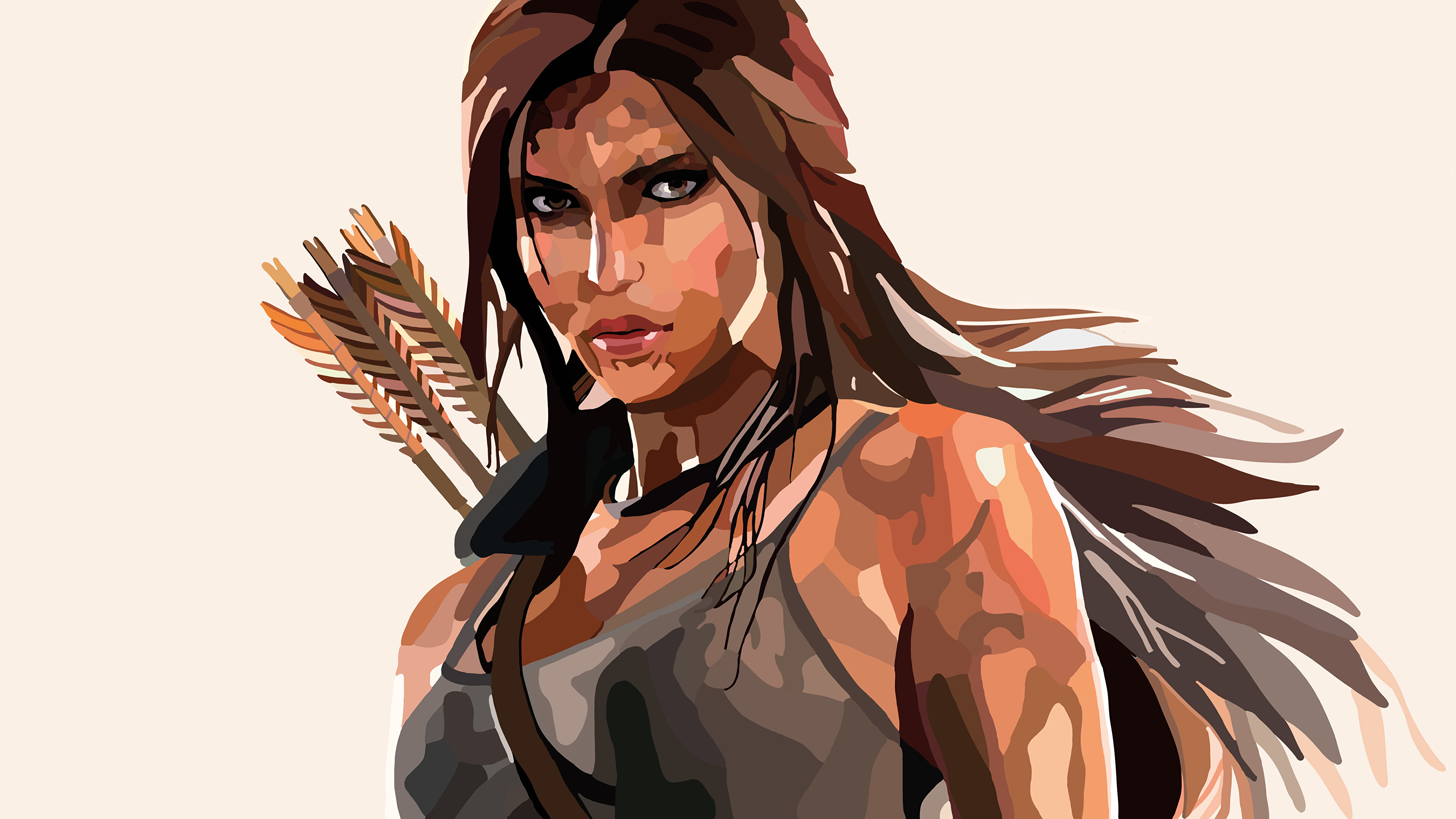 c2558a8eb5 Image Rise of the Tomb Raider Lara Croft Girls Games Vector Graphics  3840x2160 young woman vdeo