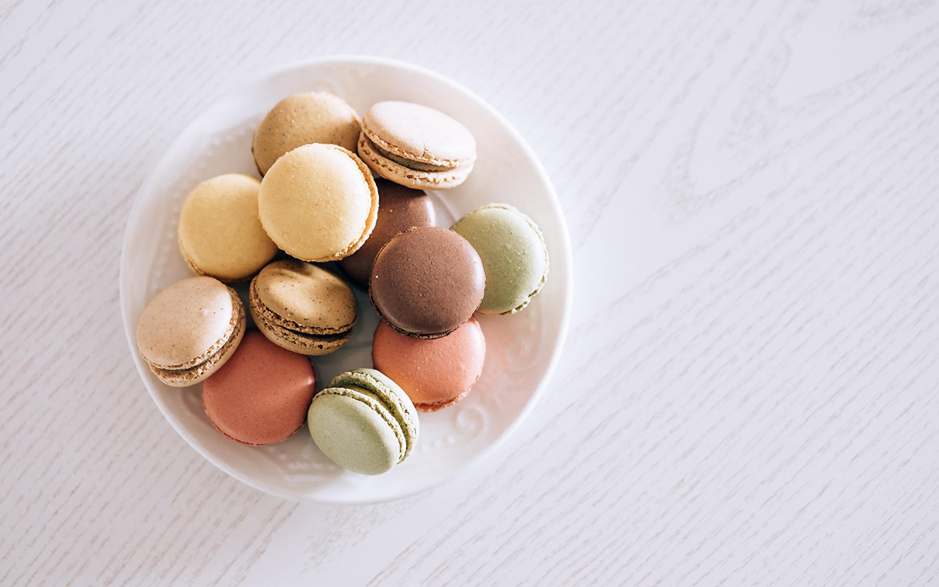 Bilder von Macaron Teller Lebensmittel 1920x1200 macarons das Essen