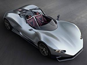Hintergrundbilder Grauer Hintergrund Silber Farbe Von oben 2018 Aznom SerpaS Camal Autos