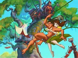 Hintergrundbilder Disney Tarzan