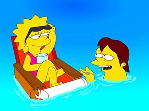 Bilder Simpsons Lisa Simpson Zeichentrickfilm