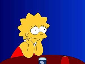 Hintergrundbilder Simpsons Lisa Simpson