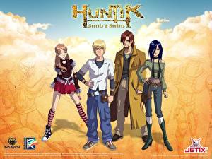 Bilder Huntik Animationsfilm